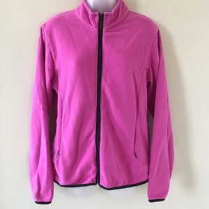 Sale! Pink zip-up fall jacket